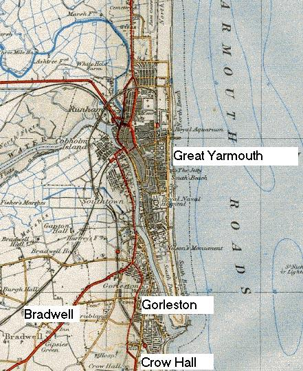 Great Yarmouth & Gorleston 1939